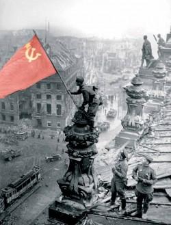 """""""Знамя Победы"""" (с) www.soldatru.ru"""